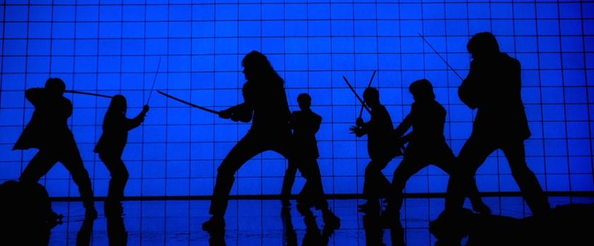 Kill Bill Vol. 1 fight scene