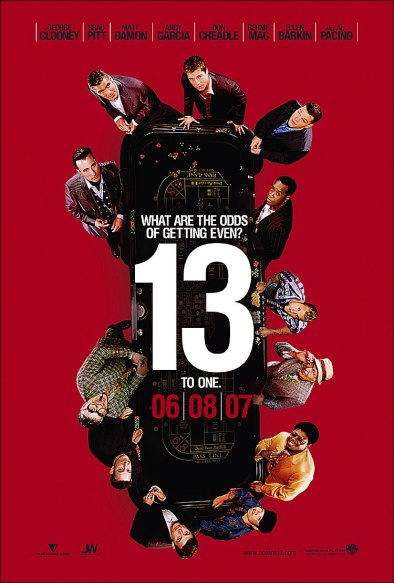 Oceans Thirteen Poster 12 18 06
