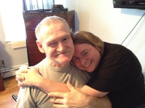 My wife Tatum on his birthday 2012