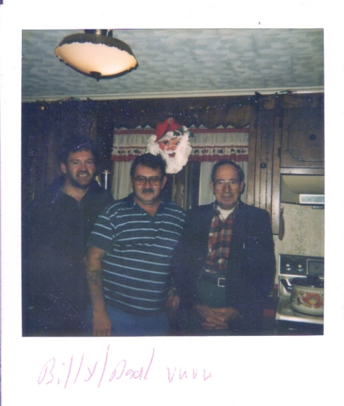 Uncle, Dad, and Vuvu (grandfather)