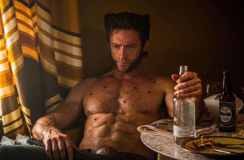 DF-07871   Hugh Jackman as Logan in X-Men: Days of Future Past.