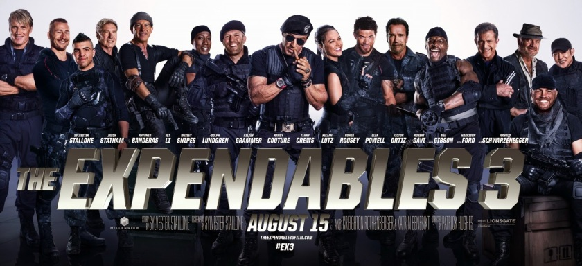 The Expendables 3 New Banner