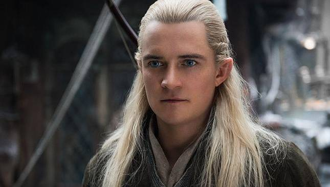 Orlando Bloom As Legolas Greenleaf The Hobbit: The...