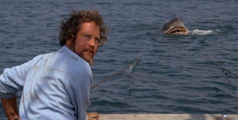 Richard Dreyfuss in a scene from the 1975 motion picture