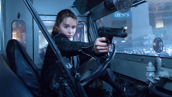 Emilia Clarke plays Sarah Connor in TERMINATOR GENISYS from Paramount Pictures and Skydance Productions.