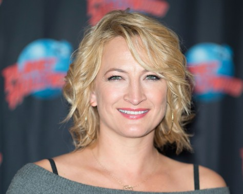Zoe Bell Visits Planet Hollywood Times Square