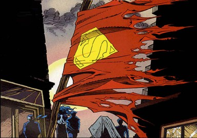 death-of-superman-cape
