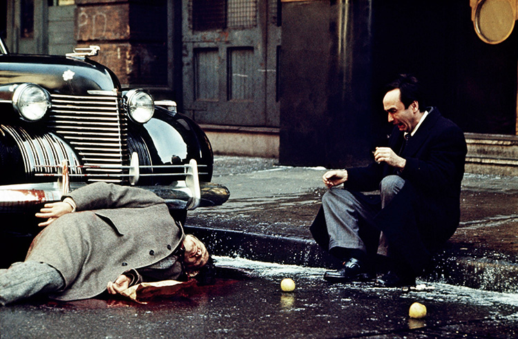 THE GODFATHER, from left: Marlon Brando, John Cazale, 1972 godfather1-fsc34(godfather1-fsc34)