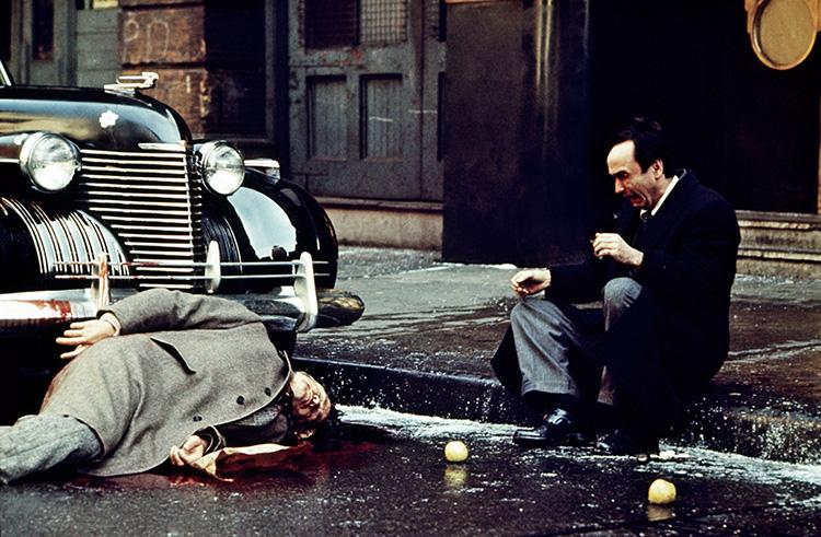 THE GODFATHER, from left: Marlon Brando, John Cazale, 1972 godfather1-fsc34(godfather1-fsc34)