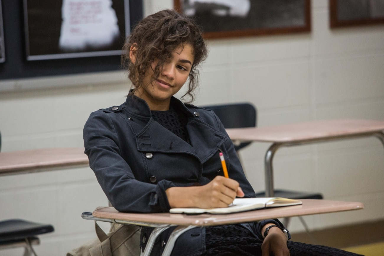 Zendaya in Columbia Pictures' SPIDER-MAN™: HOMECOMING.