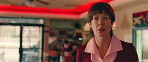 LaVona Golden (Allison Janney) at work in I, TONYA, courtesy of NEON