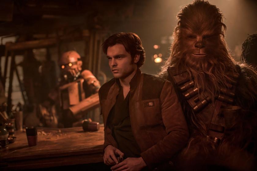 Solo: A Star Wars Story 2018 Alden Ehrenreich as Han Solo Chewbacca
